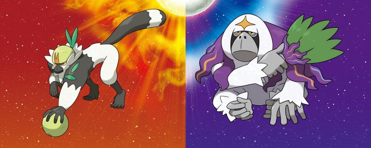 Todos los Detalles de Passimian y Oranguru para Pokémon Sun and Moon.