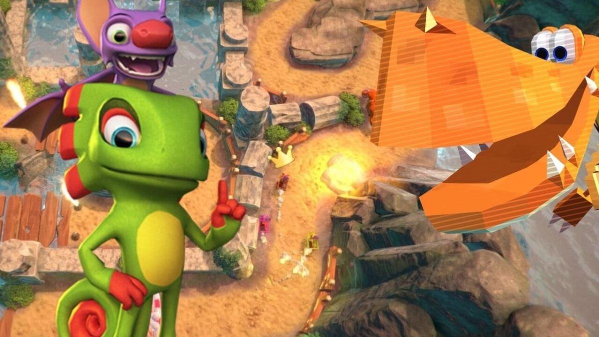 Nueva actualización del Desarrollo de Yooka - Laylee en Nintendo Switch.