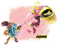 ARMS_RIBBON GIRLS VS MECHANICA