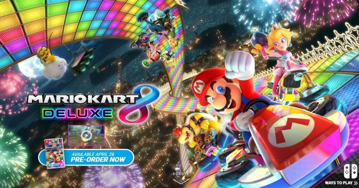 Mario Kart 8 Deluxe se actualiza a la versión 1.4.0