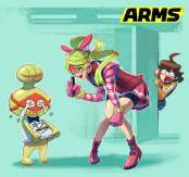 ARMS_RIBBON GIRLS CONCEPT ART