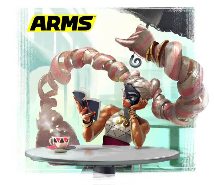 ARMS_TWINTELLE CONCEPT ART