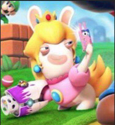 MARIO+KINGDOM BATTLE_PEACH RABBID