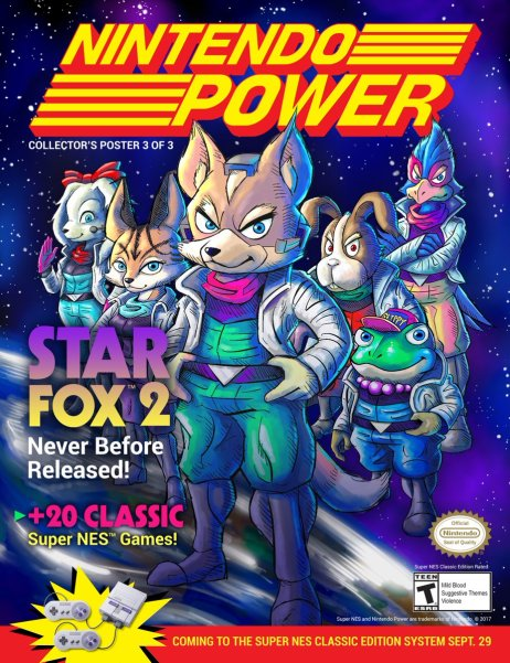 SNES_CLASSIC EDITION_NINTENDO POWER_STAR FOX