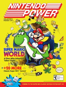 SNES_CLASSIC EDITION_NINTENDO POWER_SUPER MARIO