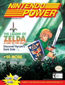 SNES_CLASSIC EDITION_NINTENDO POWER_ZELDA
