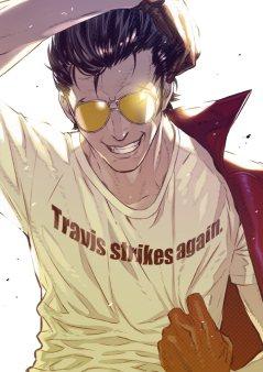 TRAVIS STRIKES AGAIN_NO MORE HEROES_ART_1