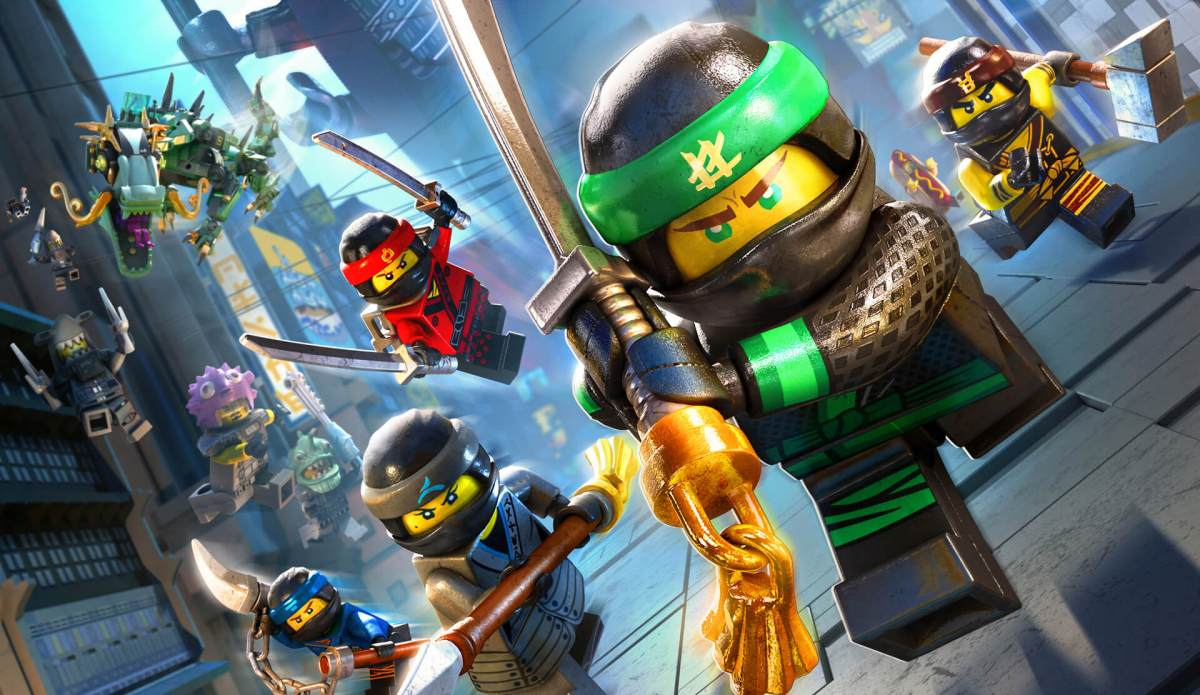 The LEGO Ninjago Movie Video Game  | Tamaño de la Descarga - Nintendo Switch.