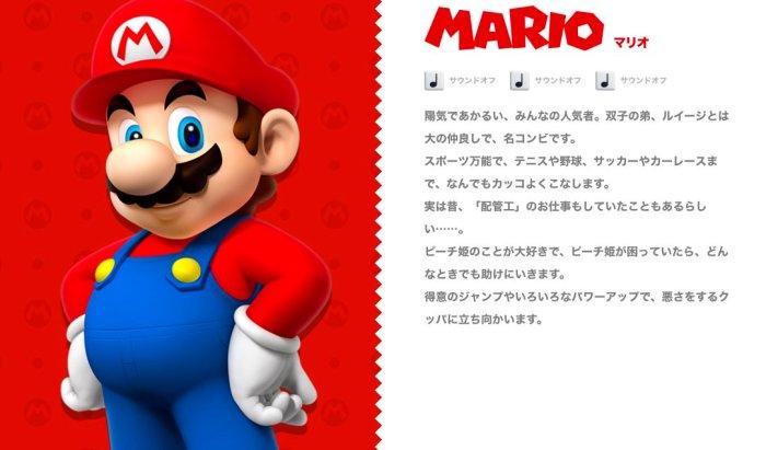 MARIO_JAPANESSE PROFILE