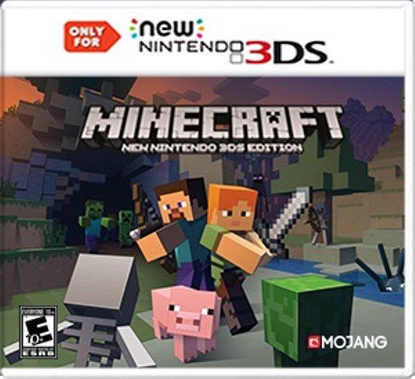 MINECRAFT_NEW NINTENDO 3DS EDITION_BOX ART