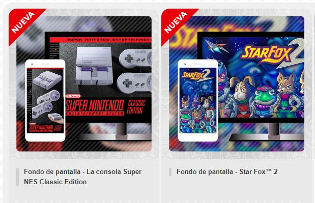 My Nintendo Se Agregan Wallpapers Con Motivos De Snes Y