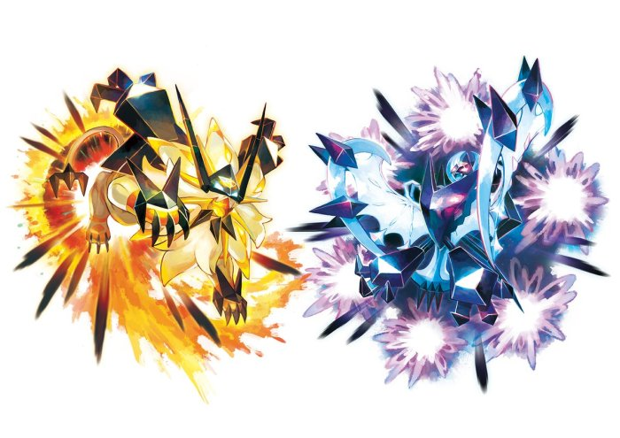 POKEMON_ULTRASUNMOON_NECROZMA_SOLGALEO LUNALA