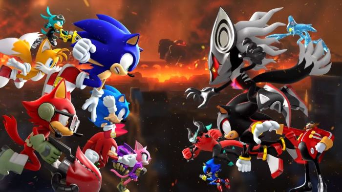 SONIC_FORCES_TRAILER DE INTRODUCCION
