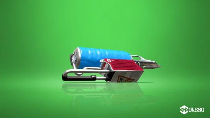 SPLATOON_2_Foil Flingza Roller