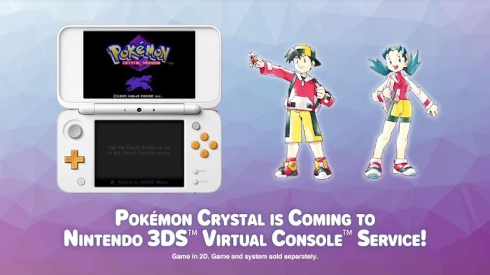 POKEMON_CRYSTAL_VIRTUAL CONSOLA_N3DS
