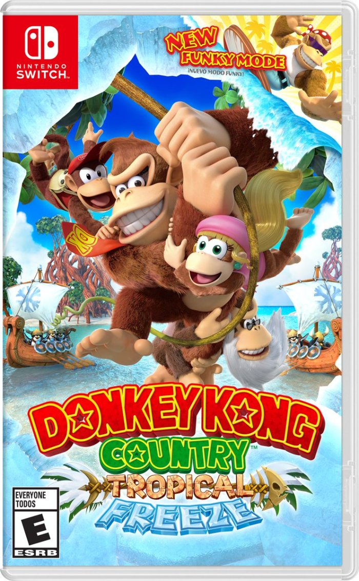 DONKEY KONG_COUNTRY_TROPICAL FREEZE_NINTENDO SWITCH_BOX ART