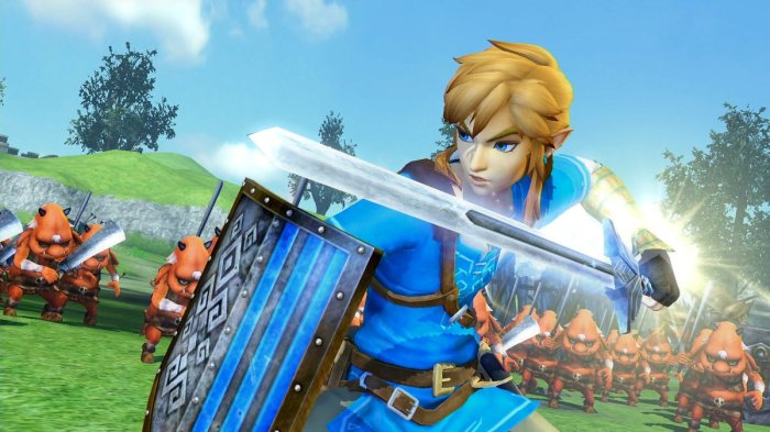HYRULE WARRIORS_DEFINITIVE EDITION_LINK_BREATH OF THE WILD