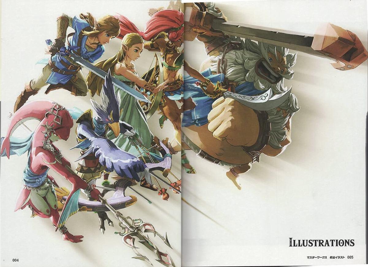 Zelda: Breath of the Wild - Master Works | Nuevas Imágenes del Libro.