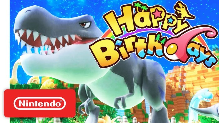 HAPPY BIRTHDAYS_TRAILER_NINTENDO SWITCH
