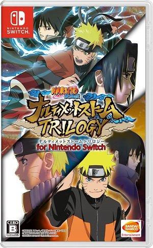 Resultado de imagen de Naruto Shippuden Ultimate Ninja Storm Trilogy Nintendo Switch boxart japones