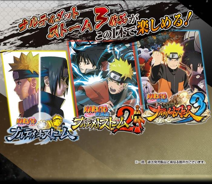 Naruto Shippuden_Ultimate Ninja Storm Trilogy_DATOS_NINTENDO SWITCH