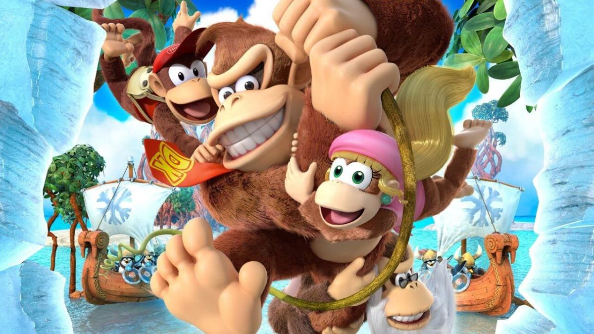 Donkey Kong Country: Tropical Freeze | Comparación: WiiU vs. Nintendo Switch.