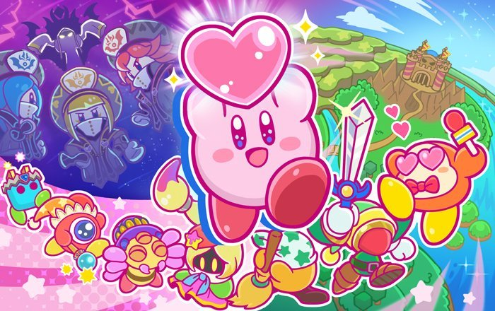 KIRBY_STAR ALLIES_ART