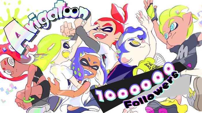 SPLATOON_1000000 FOLLOWERS