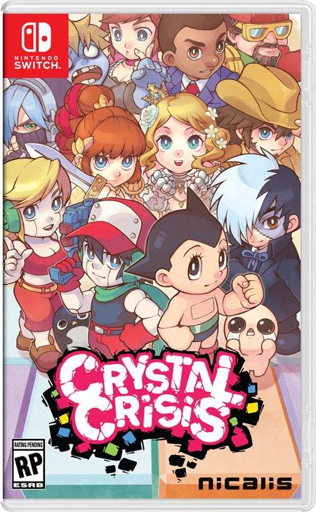 CRYSTAL CRISIS_BOX ART