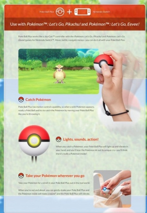 POKEMON_LETS GO_PIKACHU & EEVEE_POKE BALL PLUS_ESPECIFICACIONES_02