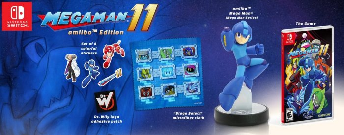 MEGA MAN_11_AMIIBO EDITION