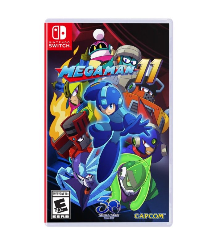 MEGA MAN_11_BOX ART_NINTENDO SWITCH