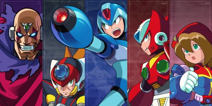 MEGA MAN_X_LEGACY COLLECTION 1 Y 2_PERSONAJES