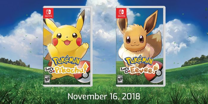 POKEMON_LETS GO_PIKACHU & EEVEE_BOX ART