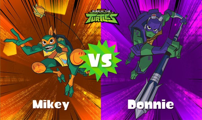 SPLATOON_2_SPLATFEST_TMNT_MIKEY VS DONNIE