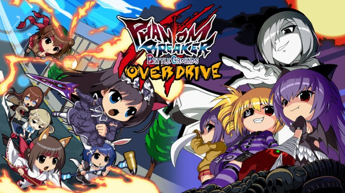PHANTOM BREAKER_BATTLE GORUNDS_OVER DRIVE