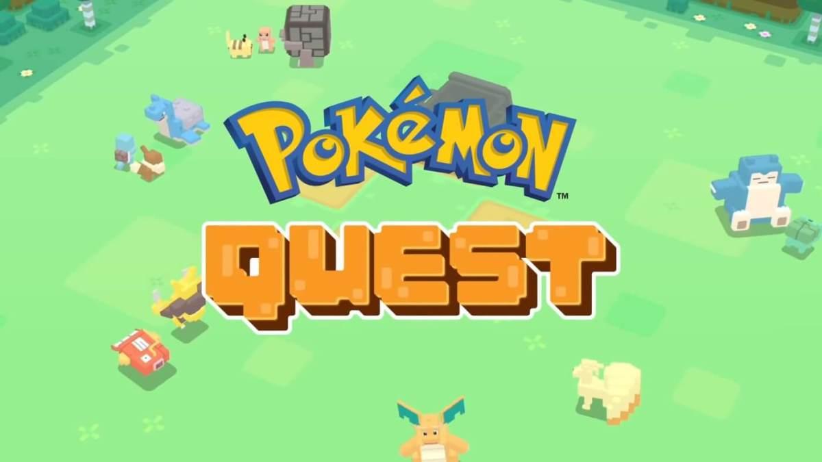 Pokémon Quest llega a Móviles el próximo 28 de Junio, 2018.