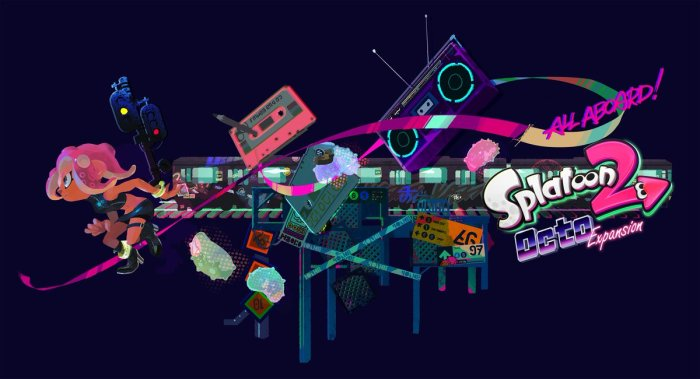 SPLATOON_2_OCTO EXPANSION_ARTE DE LANZAMIENTO