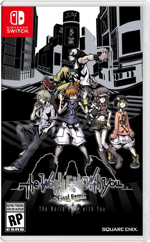 THE WORLD ENDS WITH YOU_FINAL REMIX_BOX ART