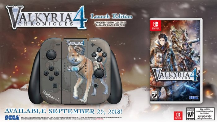 VALKYRIA CHRONICLES_4_LAUNCH EDITION_NINTENDO SWITCH