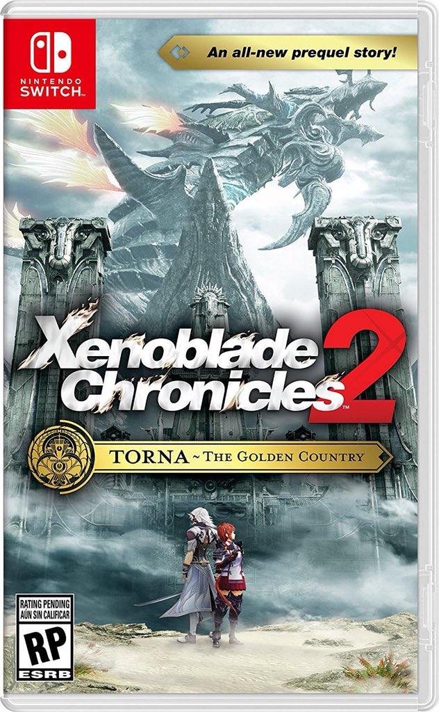 XENOBLADE_CHRONICLES_TORNA COUNTRY OF GOLD_BOX ART