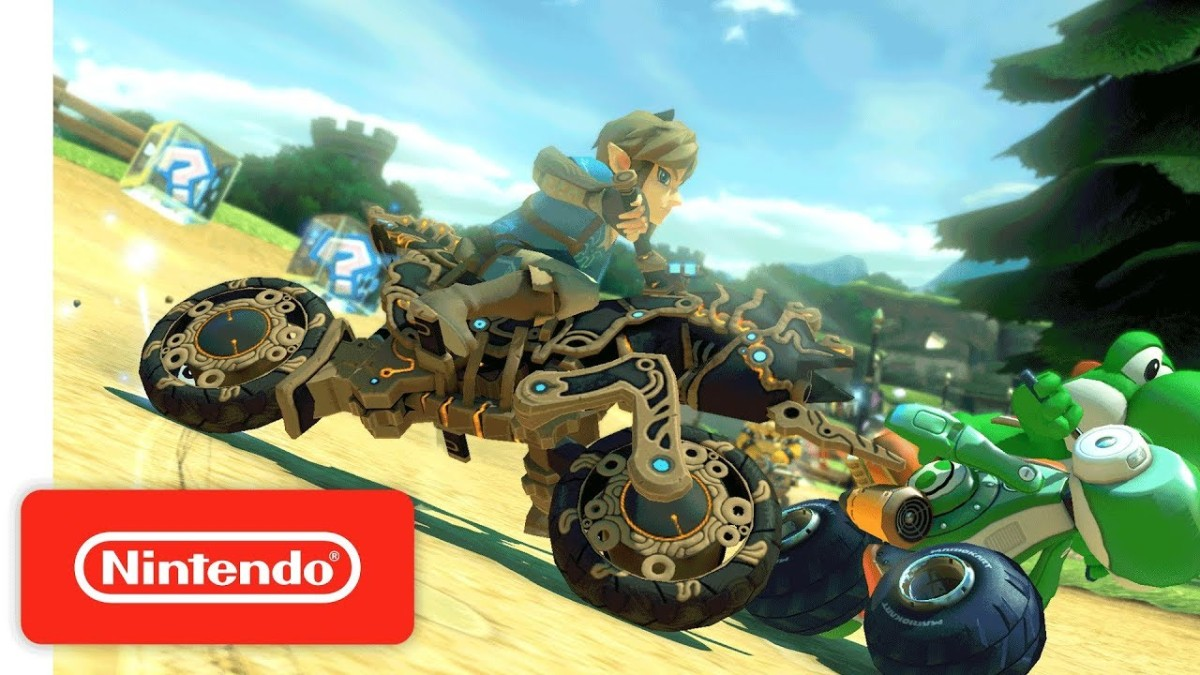 Mario Kart 8 Deluxe | Trailer de la Actualización de Breath of the Wild - Nintendo Switch.