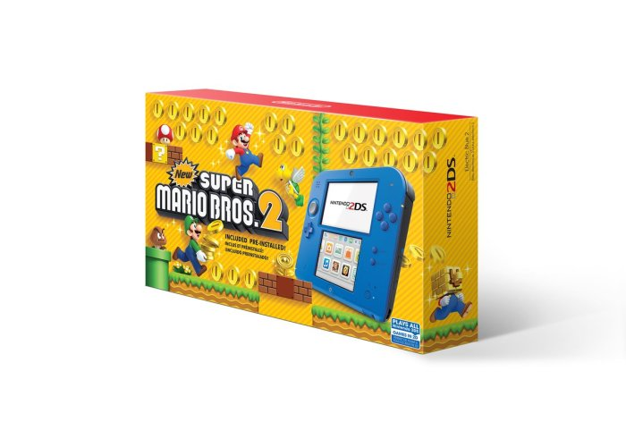 NINTENDO_2DS_ELECTRIC BLUE_NEW SUPER MARIO BROS_2