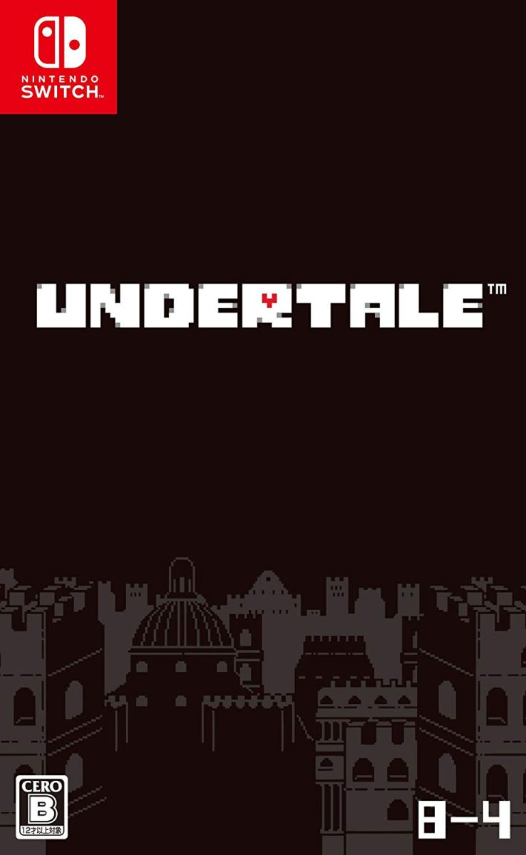 Undertale | Box Art Japonés y posible fecha de lanzamiento en Nintendo Switch.