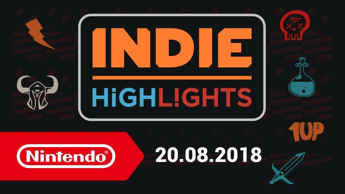 Indie Highlights | 20 de Agosto, 2018 - Nintendo Switch.