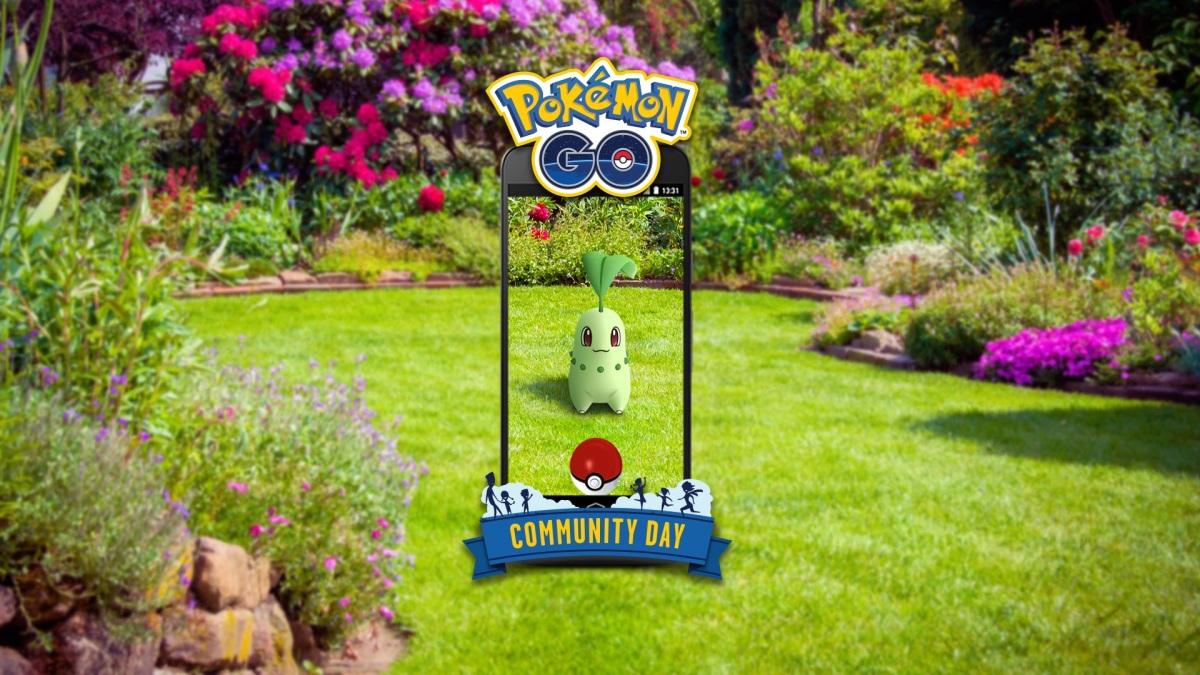 Pokémon GO | Se anuncia Día de la Comunidad basado en Chikorita.