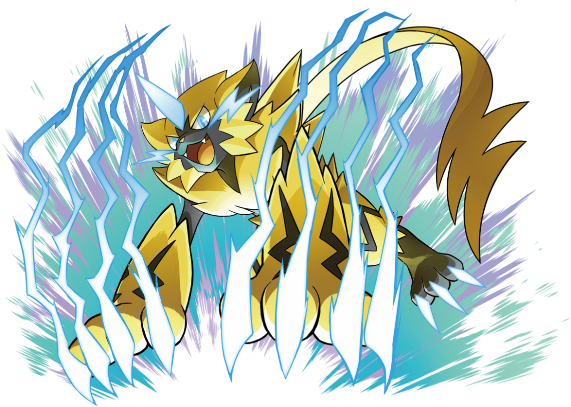 POKEMON_ULTRASUNMOON_ZERAORA_ART
