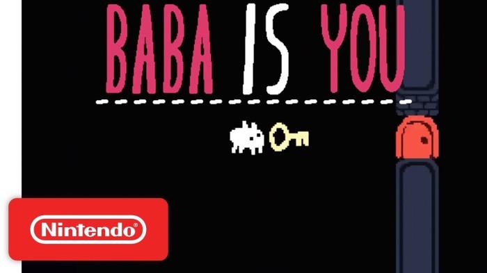 BABA IS YOU_TRAILER CON FECHA DE LANZMAIENTO