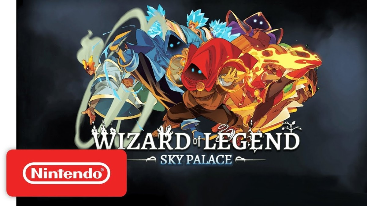 "Wizard of Legend | Trailer de lanzamiento para la actualización: ""Sky Palace"" - Nintendo Switch."